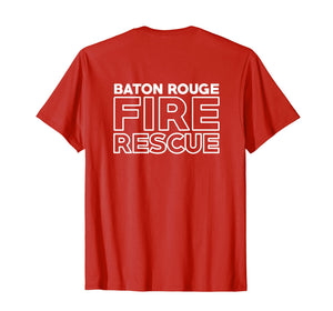 Baton Rouge Louisiana Fire Department Firefighters T-Shirt