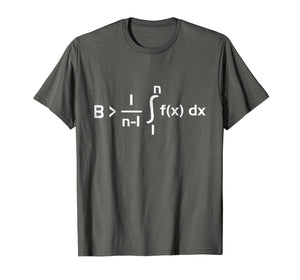 Be Greater Than Average T Shirt - Funny Math Nerd Gift