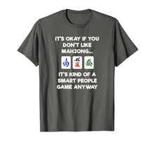 Load image into Gallery viewer, Mahjong T-Shirt - Funny Mahjong Smart People