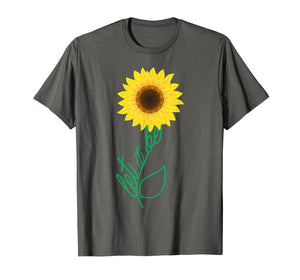 Let It Be Sunflower Hippie Gypsy Soul Lover Vintage T-Shirt