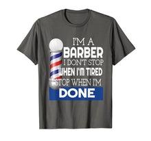 Load image into Gallery viewer, Barber Shirt Funny Barber College Graduation Gift