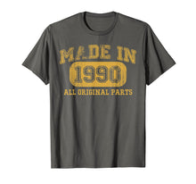 Load image into Gallery viewer, Made in 1990 Shirt 29 Year old 1990 Birthday gift 29th Bday