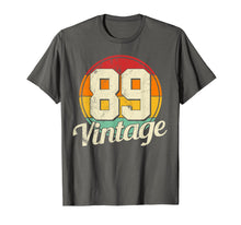 Load image into Gallery viewer, 30th Birthday T-Shirt - Vintage 1989 Retro Shirt Gift Idea