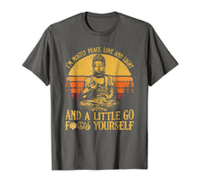 Load image into Gallery viewer, I'm mostly peace love light and a little go Yoga Shirt Gift