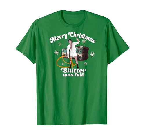 Merry Christmas Shitter Was Full Vacation T-Shirt