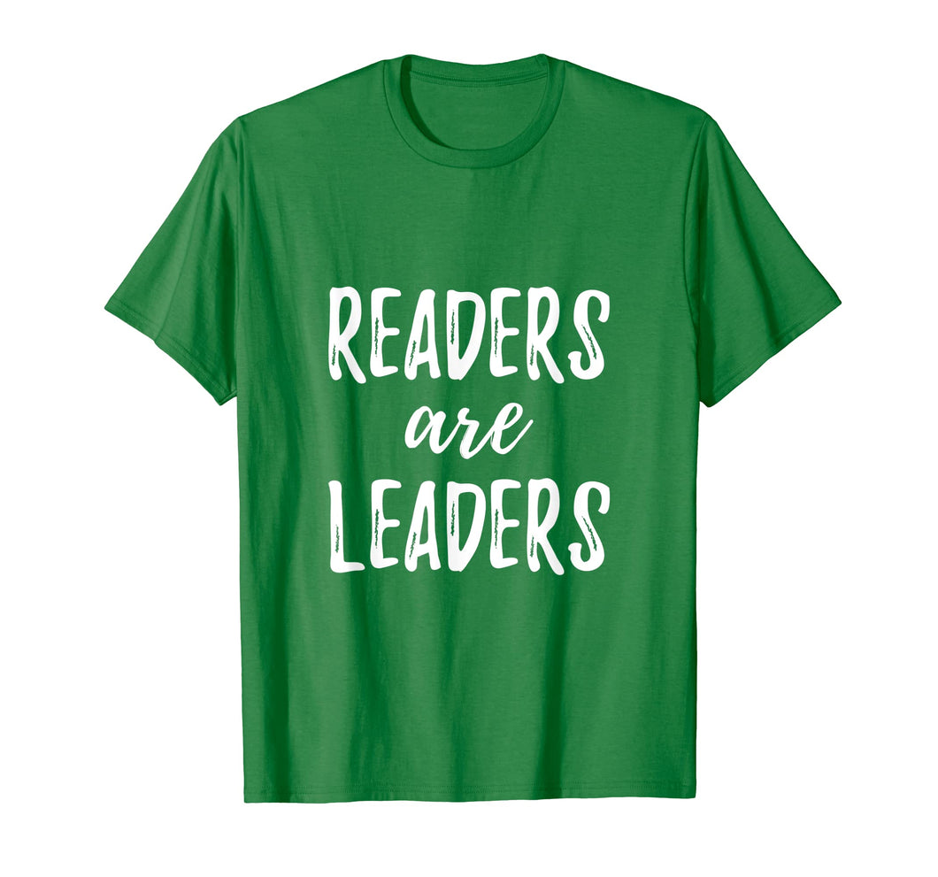 Readers Are Leaders Reading Books T-Shirt Book Lover Gift