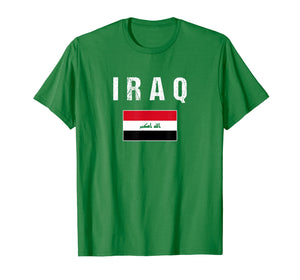 Iraq T-shirt Iraqi Flag - For Men/Women/Youth/Kids