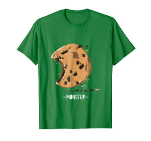 Cookie shirt, The real chocolate chip monsta is here T-shirt