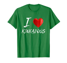 Load image into Gallery viewer, I Love Heart KINKAJOUS Animal Pet Lover T Shirt