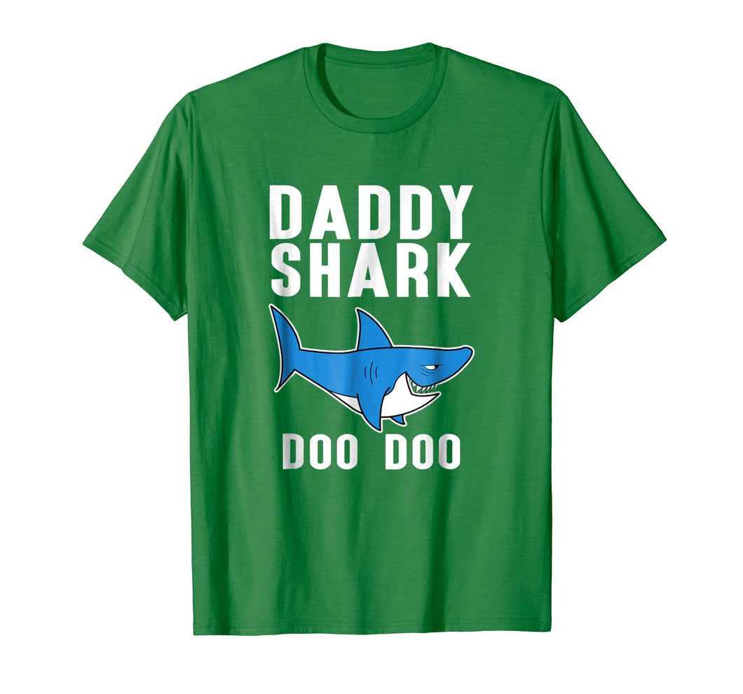 Daddy Shark Doo Doo Doo Tee - Men Women Kids T-shirt