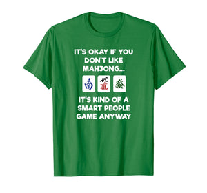 Mahjong T-Shirt - Funny Mahjong Smart People