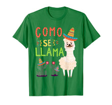 Load image into Gallery viewer, Como Se Llama Funny Cinco De Mayo Mexican T Shirt