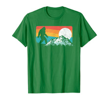 Load image into Gallery viewer, Retro Bigfoot Silhouette Rocky Mountains T-Shirt