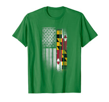 Load image into Gallery viewer, PREMIUM MARYLAND State Tshirt MARYLAND Home State Tee