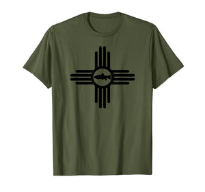 New Mexico Rio Grande Cutthroat Trout Fishing T-Shirt