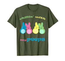 Load image into Gallery viewer, Chillin with my Peeps T-Shirt boys kids