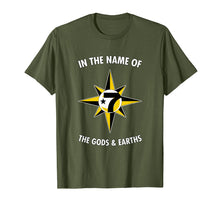 Load image into Gallery viewer, In the Name Of the Gods & Earths 7 Logo 5 percent t shirt