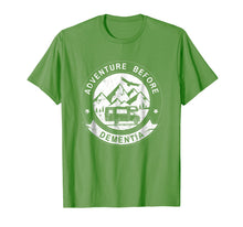 Load image into Gallery viewer, Adventure Before Dementia Funny RV Camper Tshirt