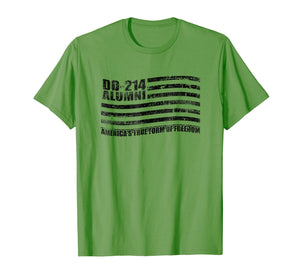 DD-214 Alumni US Military Retirement Shirt