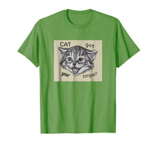 Load image into Gallery viewer, Cat Got Your Tongue T-Shirt