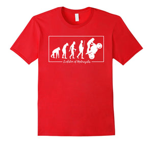 Evolution of Super Bikes Motorcycle Fan Shirt