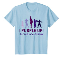Load image into Gallery viewer, I Purple Up 2019 Shirt, For The Month Of The Military Child