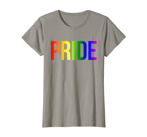 Pride Rainbow Flag Shirt for National Pride March