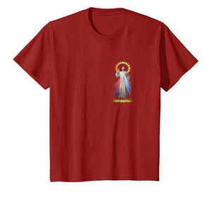 Jesus Divine Mercy T-Shirt Saint Faustina Catholic Prayer 01