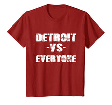 Load image into Gallery viewer, Detroit vs Everyone Vintage Distressed 2018 T-Shirt