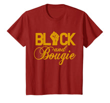 Load image into Gallery viewer, Black And Bougie T-shirt