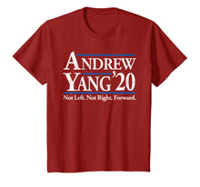 Load image into Gallery viewer, Andrew Yang 2020 Shirt Vintage Reagan Bush '84 in Red  T-Shirt