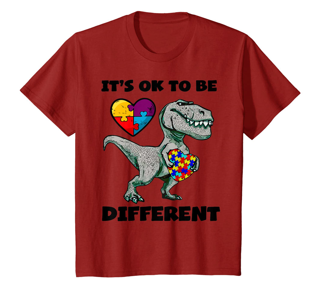 Autism Awareness Shirts Dinosaur Puzzle T Shirt