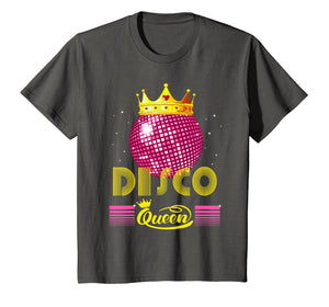 Disco Queen Tshirt - Retro 70s Vintage Disco Ball