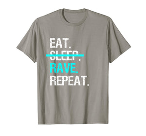 Eat Sleep Rave Repeat Music Festival T-Shirt