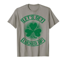Load image into Gallery viewer, Let's Get Lucked Up St. Patrick's Day T-Shirt Men, Women