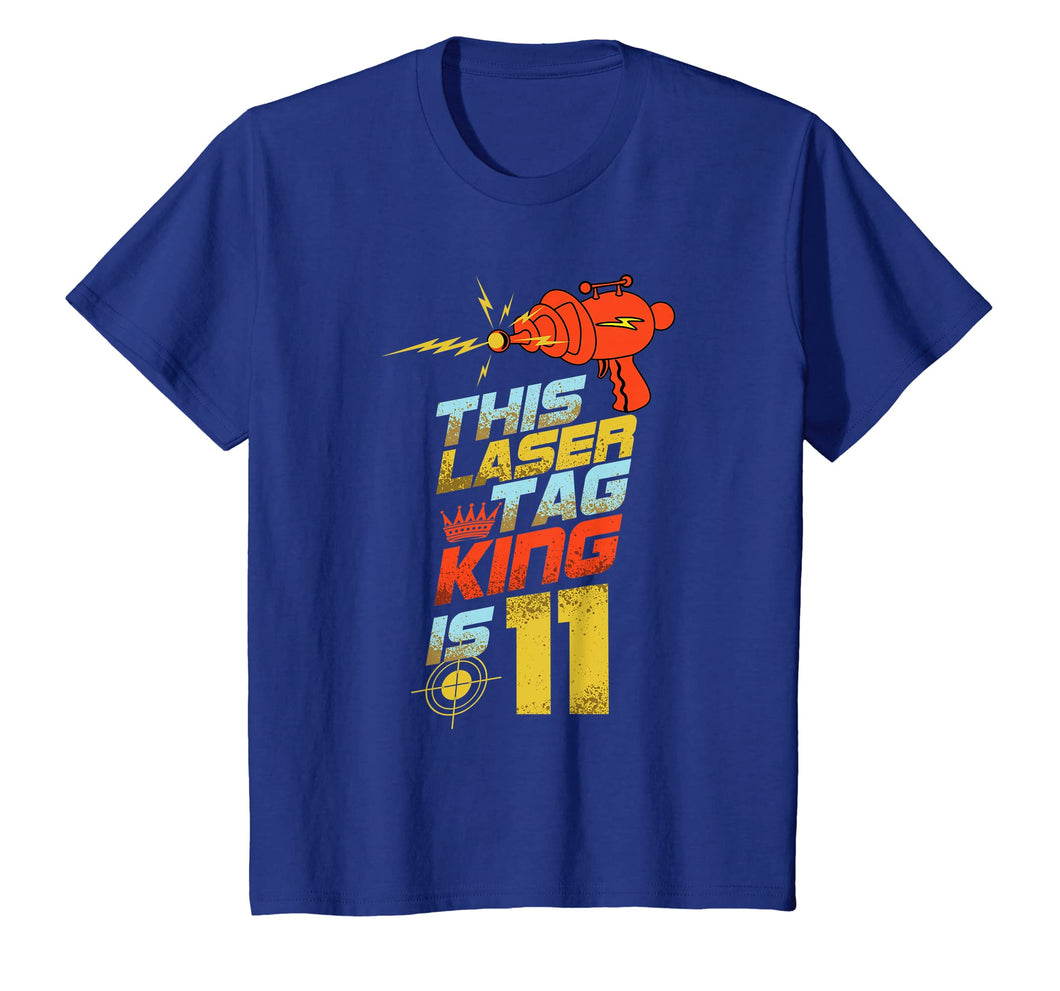 Kids 11 Year Old Laser Tag Birthday Party 11th Gift Shirt