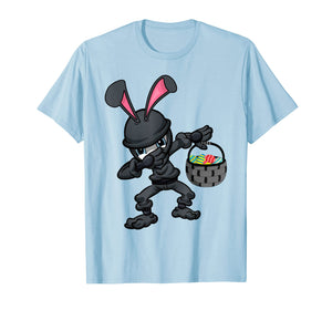 Easter Bunny Ninja Shirt Eggs Hunting Kung-Fu Rabbit Egg Tee