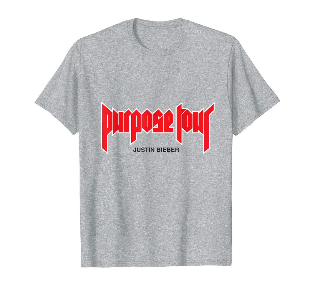 Mens Justin Bieber Purpose Tour Merch T-Shirt
