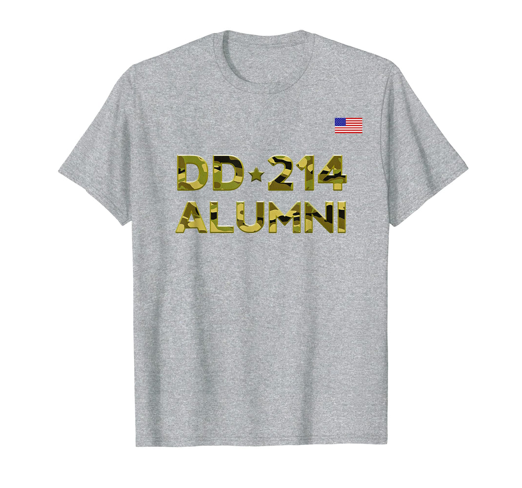 DD-214 Alumni T shirt Retirement Military Discharge DD214