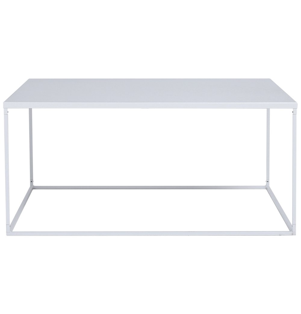 Casual Posh Coffee Table - White
