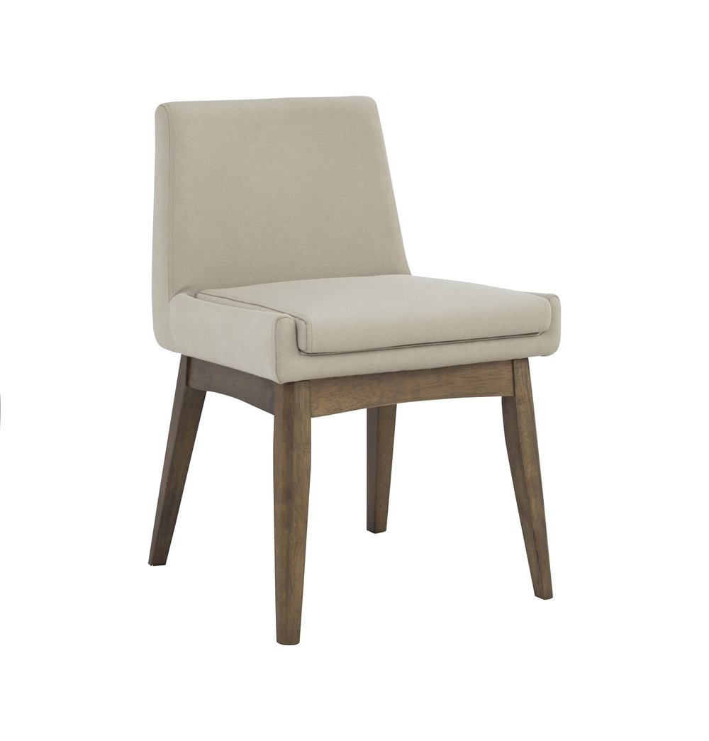 Solid Oak Chanel Dining Chair - Barley & Cocoa