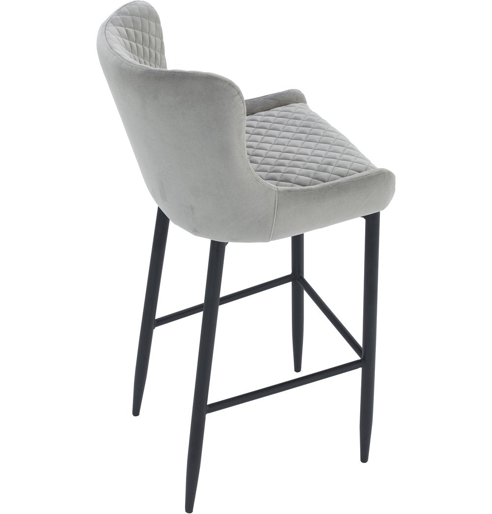 Contemporary  Counter Stool - Steel
