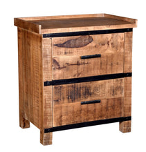 Load image into Gallery viewer, Urban 2-Drawer Nightstand/Bedside Table