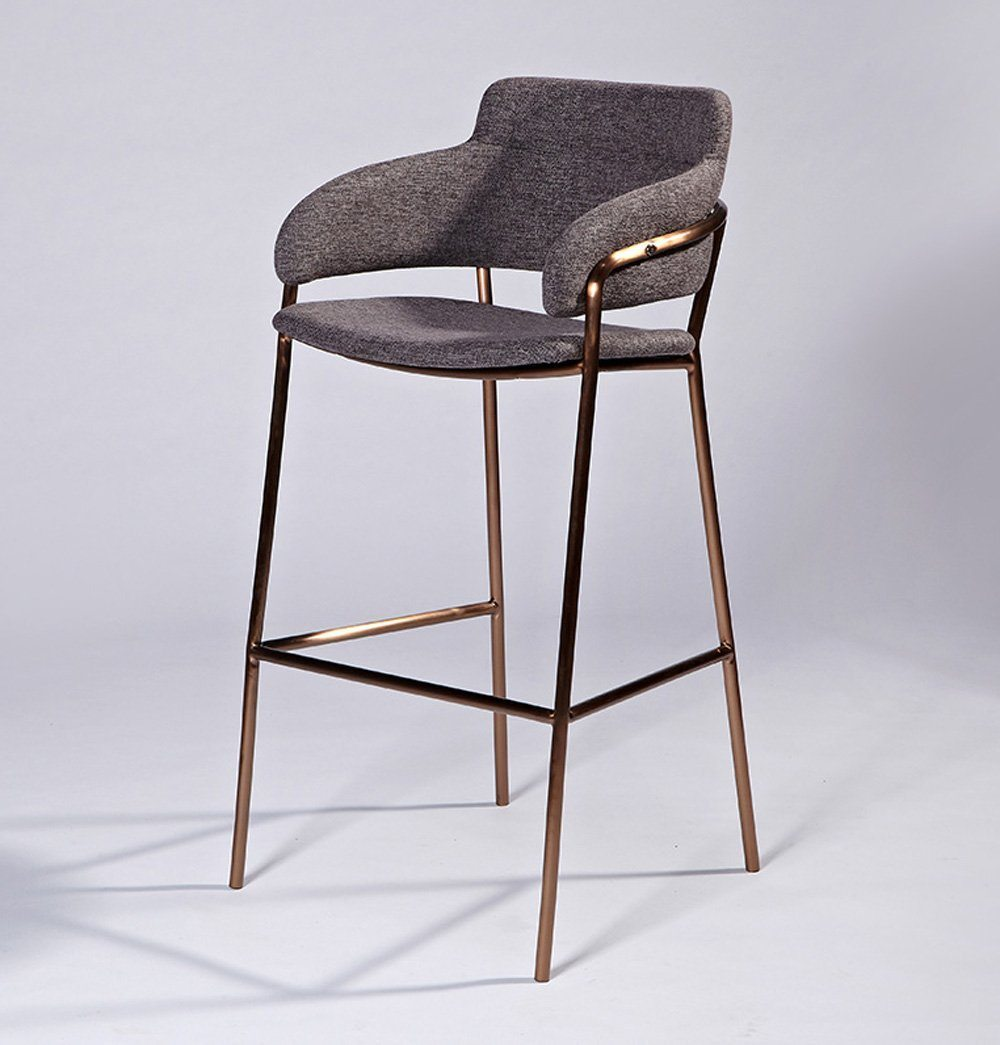 Rose Gold Bar Stool