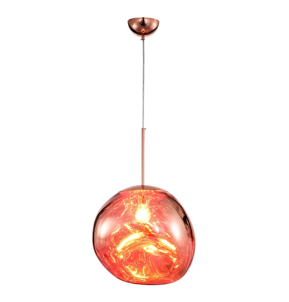 Contemporary Pendant Lamp - Copper
