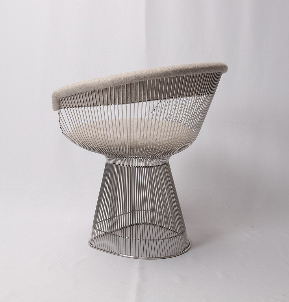 Cashmere Wool - Wire Dining Chair