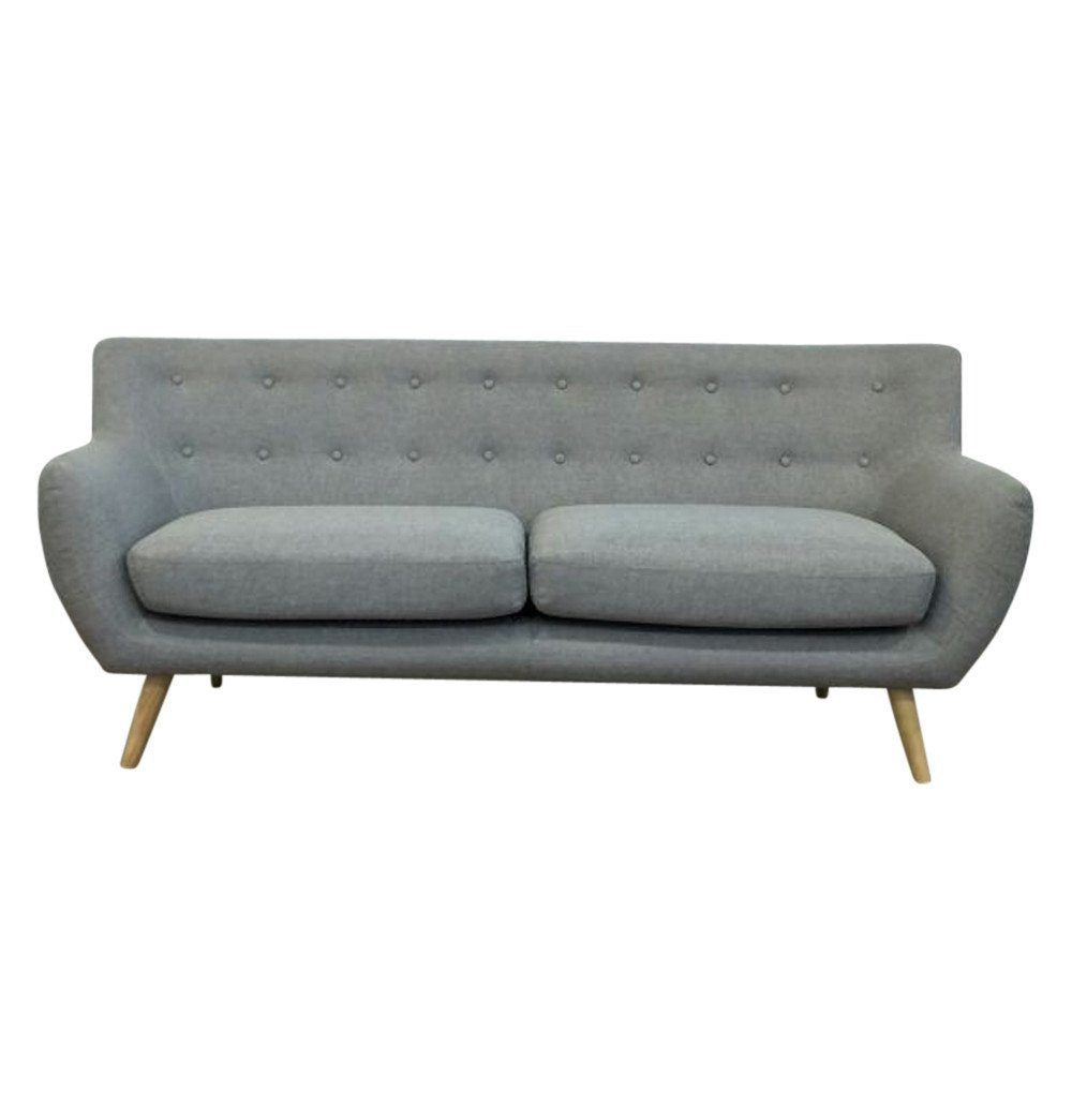 Relaxed Modern 3-Seater Sofa