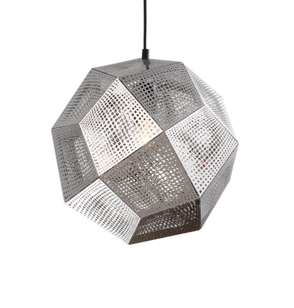 Relaxed Modern Shade Pendant - Silver