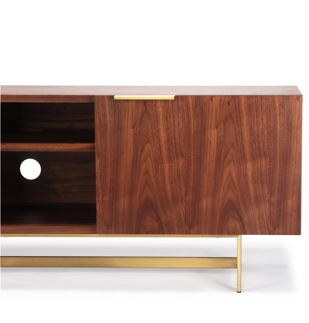 Champagne Gold Media TV Unit
