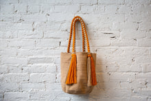 Load image into Gallery viewer, Rapunzel Bag - Tangerine & Sand
